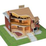 σπίτι σχεδίου διανυσματική απεικόνιση