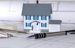 σπίτι σχεδίου στοκ φωτογραφία με δικαίωμα ελεύθερης χρήσης