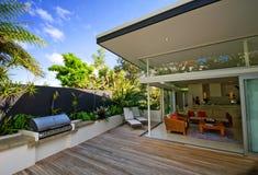 σπίτι σχεδιαστών σύγχρονο στοκ φωτογραφία