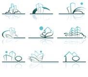 σπίτι σχεδίων Στοκ φωτογραφίες με δικαίωμα ελεύθερης χρήσης