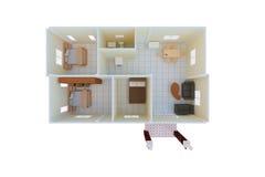 Σπίτι σχεδίων Στοκ Εικόνα