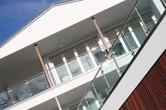 σπίτι σύγχρονο Στοκ εικόνες με δικαίωμα ελεύθερης χρήσης