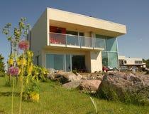 σπίτι σύγχρονο Στοκ Εικόνα