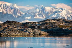 σπίτι της Ανταρκτικής Στοκ Εικόνες