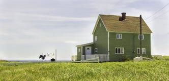 Σπίτι της νέας γης παραλιών στοκ φωτογραφία