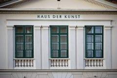 Σπίτι της τέχνης Baden Στοκ Εικόνες