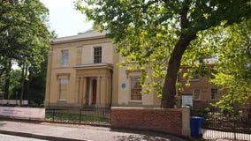 Σπίτι της Elizabeth Gaskell, Μάντσεστερ, UK Στοκ Εικόνες