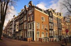 σπίτι του Άμστερνταμ στοκ εικόνες