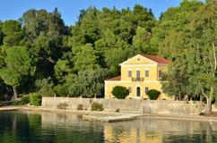 Σπίτι του Αριστοτέλης Valaoritis Στοκ φωτογραφία με δικαίωμα ελεύθερης χρήσης