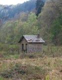 Σπίτι του δασοφύλακα στα βελγικά ξύλα το καλοκαίρι Στοκ Φωτογραφία