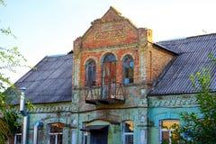 Σπίτι του γιατρού Theodore Gotman, που χτίζεται από Mennonite τους αποίκους Στοκ φωτογραφία με δικαίωμα ελεύθερης χρήσης