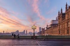 Σπίτι του Κοινοβουλίου το πρόωρο χειμερινό πρωί στοκ εικόνες