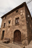 Σπίτι του παλαιού καταλανικού αγρότη Στοκ εικόνες με δικαίωμα ελεύθερης χρήσης
