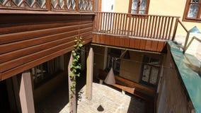 Σπίτι του σπιτιού Turbins Bulgakov ` s στο Κίεβο, κατώφλι στοκ φωτογραφίες