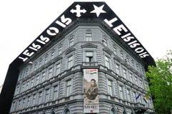 Σπίτι του τρόμου (τρόμος Haza) στη Βουδαπέστη Στοκ εικόνα με δικαίωμα ελεύθερης χρήσης