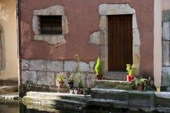 σπίτι του Annecy μεσαιωνικό Στοκ εικόνα με δικαίωμα ελεύθερης χρήσης