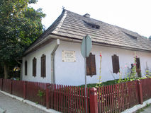 Σπίτι του George Cosbuc στοκ εικόνες