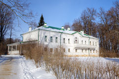 Σπίτι του Leo Tolstoy σε Yasnaya Polyana. Στοκ Εικόνες