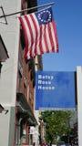 Σπίτι του Ross Betsy στη Φιλαδέλφεια Στοκ Εικόνα