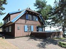 Σπίτι του Thomas Mann, Λιθουανία στοκ φωτογραφίες με δικαίωμα ελεύθερης χρήσης