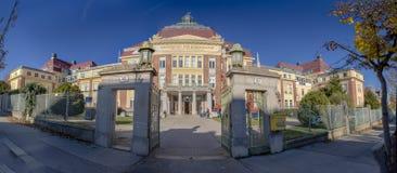 Σπίτι του Wilhelm Exner στη Βιέννη, Αυστρία στοκ εικόνες με δικαίωμα ελεύθερης χρήσης