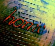 Σπίτι ` του Word ` κειμένων στην κίνηση στοκ εικόνες με δικαίωμα ελεύθερης χρήσης