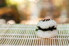 Σπίτι τροφίμων σφαιρών ρυζιού Στοκ Εικόνες