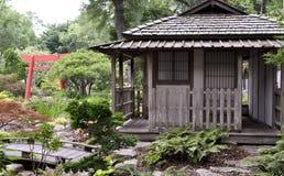 Σπίτι τσαγιού στην Ιαπωνία Στοκ φωτογραφίες με δικαίωμα ελεύθερης χρήσης