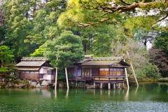 Σπίτι τσαγιού uchihashi-Tei στοκ εικόνες