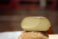 σπίτι τυριών που γίνεται Στοκ εικόνες με δικαίωμα ελεύθερης χρήσης