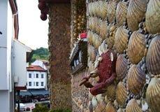 Σπίτι των κοχυλιών στοκ φωτογραφία