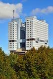 Σπίτι των Σοβιετικών - διάσημος ατελής. Kaliningrad, Ρωσία στοκ φωτογραφία με δικαίωμα ελεύθερης χρήσης