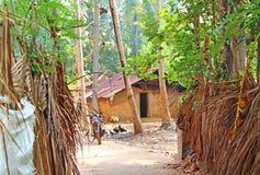 Σπίτι των φτωχών Ινδία Στοκ εικόνα με δικαίωμα ελεύθερης χρήσης