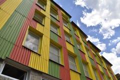 Σπίτι των χρωμάτων και της μουσικής στοκ εικόνες με δικαίωμα ελεύθερης χρήσης