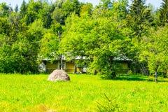 Σπίτι των χωρικών Στοκ φωτογραφίες με δικαίωμα ελεύθερης χρήσης