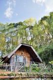 Σπίτι υπολοίπου στο ANG Khang, Chiang Mai, Ταϊλάνδη Στοκ εικόνα με δικαίωμα ελεύθερης χρήσης