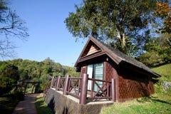 Σπίτι υπολοίπου στο ANG Khang, Chiang Mai, Ταϊλάνδη Στοκ εικόνες με δικαίωμα ελεύθερης χρήσης