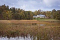 Σπίτι φέουδων στο πάρκο Monrepos Στοκ Εικόνες