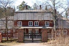 Σπίτι φέουδων Στοκ Φωτογραφία