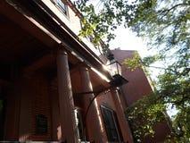 Σπίτι φίλων Hill αναγνωριστικών σημάτων, Hill αναγνωριστικών σημάτων, Βοστώνη, Μασαχουσέτη, ΗΠΑ Στοκ φωτογραφίες με δικαίωμα ελεύθερης χρήσης