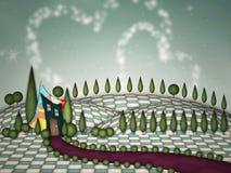 Σπίτι φαντασίας Στοκ Εικόνες