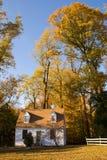 σπίτι φθινοπώρου Στοκ Εικόνες