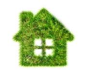 Σπίτι φιαγμένο από πράσινη χλόη Στοκ φωτογραφία με δικαίωμα ελεύθερης χρήσης