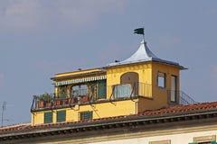 Σπίτι Φλωρεντία στεγών στοκ φωτογραφία με δικαίωμα ελεύθερης χρήσης