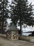 Σπίτι φρουράς από τη λίμνη Mohawk Στοκ εικόνες με δικαίωμα ελεύθερης χρήσης