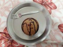 σπίτι φλυτζανιών κέικ που &gamm Στοκ εικόνα με δικαίωμα ελεύθερης χρήσης
