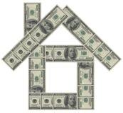 Σπίτι χρημάτων στοκ εικόνες