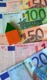σπίτι χρηματοδότησης Στοκ εικόνα με δικαίωμα ελεύθερης χρήσης