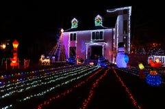 Σπίτι Χριστουγέννων στο Washington DC στοκ εικόνες