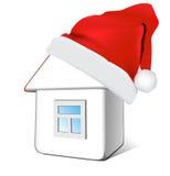 σπίτι Χριστουγέννων απεικόνιση αποθεμάτων